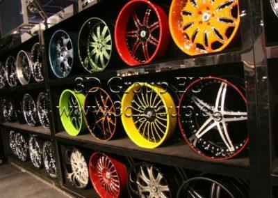 Automobilių ratlankių dažymas